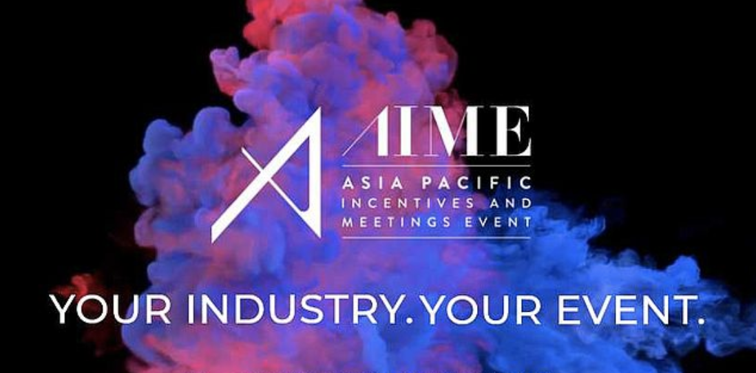 Logo AIME - The Asia Pacific Incentives Meetings Event