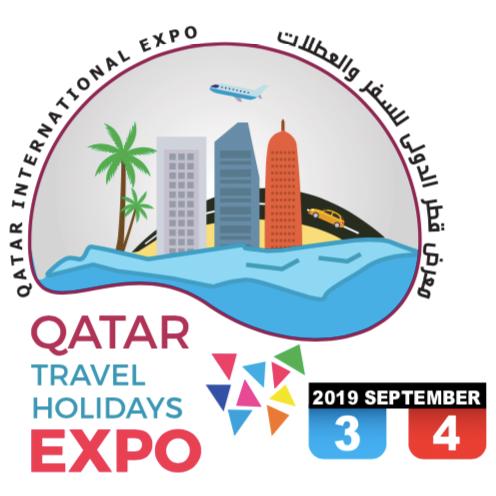 Logo Qatar International Tourism Exhibition